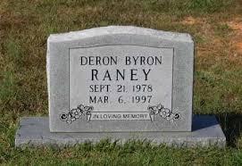 RANEY, DERON BYRON - Lawrence County, Arkansas | DERON BYRON RANEY -  Arkansas Gravestone Photos