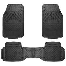 Shop for Rubber Car Floor Mats New Heavy Duty 3pcs All Weather