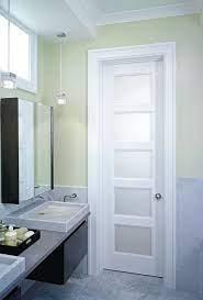 glass bathroom door