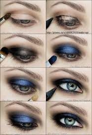 cute makeup ideas blue black eye makeup tutorial blue green eyes