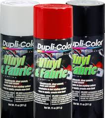 Vinyl & Fabric Coating Dupli-Color Vinyl & Fabric Coating is perfect for  restoring  Fabric Spray PaintVinyl ...
