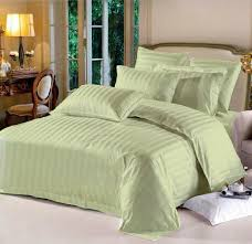 queen hotel collection 6 piece bedding sets green