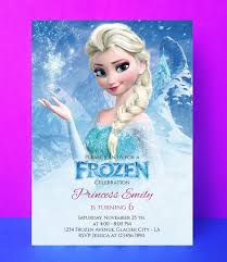 In a magical kingdom beneath a blanket of white. Free Editable Printable Frozen Birthday Invitations Page 1 Line 17qq Com