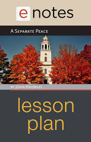 best ideas about a separate peace a separation a separate peace by john knowles enotes lesson plan