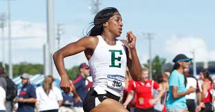 select members of the eastern michigan university women s track and field team peted in the first day of action at the stanford invitational in palo alto