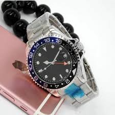 44MM <b>Relogio Masculino Mens Watches</b> Fashion Black Dial With ...
