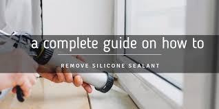 how to remove silicone sealant from