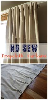 Paint Drop Cloth Curtains Best 25 Painting Curtains Ideas On Pinterest Girls Room