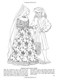 paper dolls meval fashions coloring book dover fashion coloring book amazon co uk