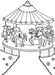carnival coloring pages carnival coloring sheets for preschoolers