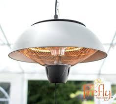 hanging outdoor heater patio heater ceiling hanging electric halogen garden outdoor light silver
