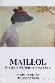 Formato Au 12 Cartel Maillol Au Palais Des Rois De Majorque Autor Maillol Aristide A Partir De