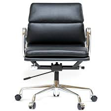 Office chair eames Chair Replica Eames Office Chair Aluminum Short Back Soft Pad Black Rakuten Chaoscollection Eames Office Chair Aluminum Short Back Soft Pad