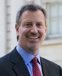 New York mayor-elect Bill DeBlasio