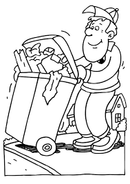 Container People Coloring Pages 2 Kleurplaten Recyclen School