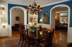 Wall Color Designs For Living Room Fascinating Best Dining Room Colors With White And Blue Wall Color