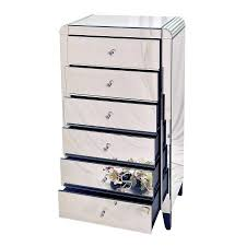 Tall Bedroom Chest Of Drawers Tall Mirrored Chest Drawers Mirrors And Wall Decor Mirrored