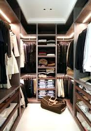 minimalist closet shelving design ideas led closet lighting ideas with some rods opened shelves small bag