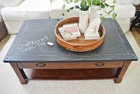how to use chalkboard paint to make a