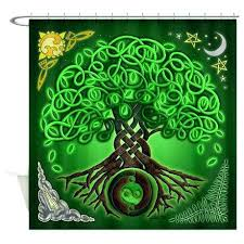 tree of life shower curtain circle tree of life shower curtain design bathrooms on colorful printed
