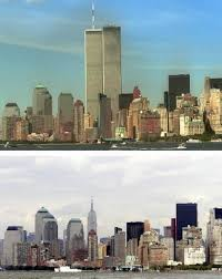twin towers and twin buddhas narrative and technology spring  the world trade center twin towers before and after