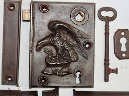 antique door locks. Interesting Antique Antique Restoration Hardware Earlyrimlock13b  With Door Locks