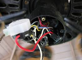 hunter 23855 ceiling fan how to get to capacitor doityourself attached images