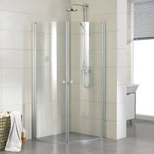 small corner bathroom shower door enclosure