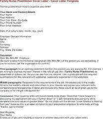 Sample Cover Letter For New Graduate Nurse Practitioner Resume