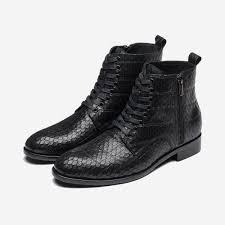 Mens Designer Boots Mens Designer Collection Black Ankle Boots Sale Cheap Opp France