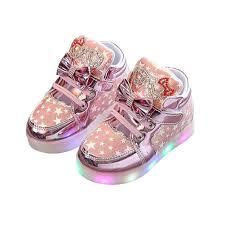 Tennis Shoes That Light Up At The Bottom Amazon Com Kids Led Shoes Children Light Up Shoes Antiskid
