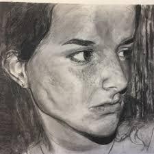 Textured Self Portrait, Dorothy Landis - ArtStation