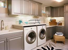 laundry sink cabinet laundry room traditional designing tips with silver cabinets wicker baskets beach style laundry room