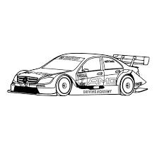 Kleurplaten Raceauto S Ausmalbild Mercedes Ocean Drive Ausmalbilder