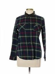Renvy Size Chart Details About Renvy Women Blue Long Sleeve Button Down Shirt L