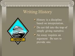 writing history essays kevin j benoy writing history history is  2 writing