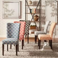 fabric needed for dining room chairs. catherine moroccan pattern fabric parsons dining chair (set of 2) by inspire q bold needed for room chairs