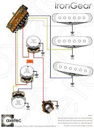 switch wiring diagram Strat 7 Way Wiring Diagram HSS Wiring 1 Vol. 1 Tone