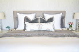 how to make a beautiful bed. Beautiful Make How To Make Up A Beautiful Bed Pom Throw Gray Nailhead Upholstered  White And With How To Make A Beautiful Bed X
