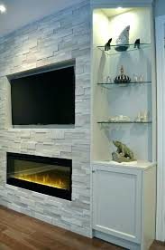 the best electric fireplace in wall ideas on built canadian tire