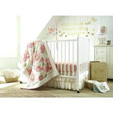 pink and gold nursery bedding dusky charming