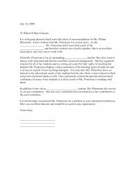 Example Reference Letter For A Teacher Yopalradio Co