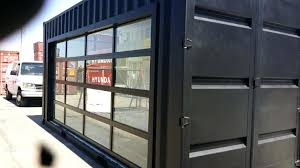 Clear Glass Garage Doors Clear Garage Door Insulated Clear Glass