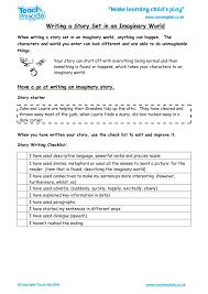 Writing Fiction (7-9 Years) - TMK Education