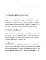 Sample Letter For Cancellation Of Standing Order