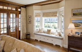 Window Treatments Ideas For Living Room Fascinating Bay Window Curtain Ideas Living Room Living Room Ideas