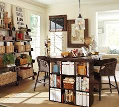 pottery barn home office. Home Office With Bedford Project Table Set From Pottery Barn. Barn