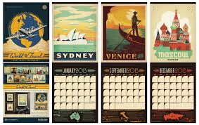 Travel Calendar World Travel Calendar Calendar By Anderson Design Group Fe Flickr
