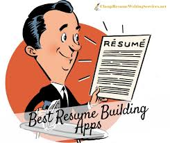 Resume Building Inspiration Top Resume Building App