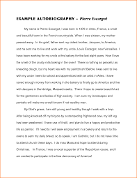 personal biography essay examples personal narrative essay  biography essay examples biography essay outline examples of example self biography essay expense report template